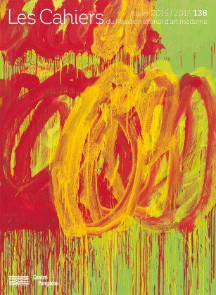 n° 138 des Cahiers du Musée national d'art moderne